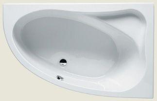 Ванна акриловая Riho Lyra 153х100 левая L, без гидромассажа