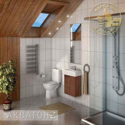 Мебель для ванной комнаты Акватон Эклипс 46