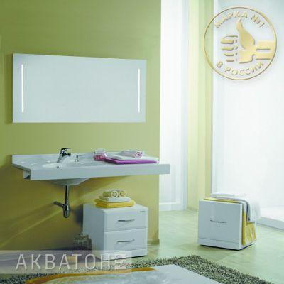 Мебель для ванной комнаты Акватон Отель 120