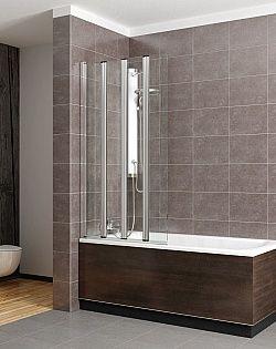 Mногостворчатая шторка для ванны Radaway EOS PNW