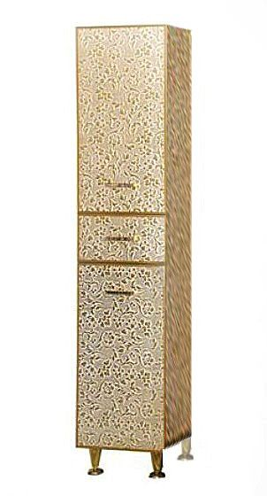 Пенал Misty Гранд Lux золотая кожа флораль