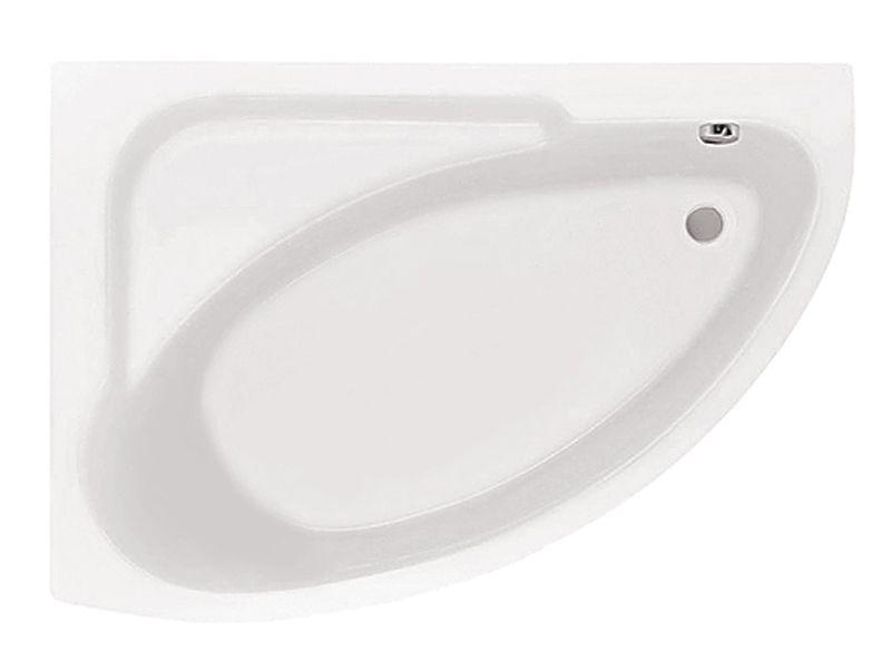 Акриловая ванна Santek Гоа 150×100 без гидромассажа Левосторонняя