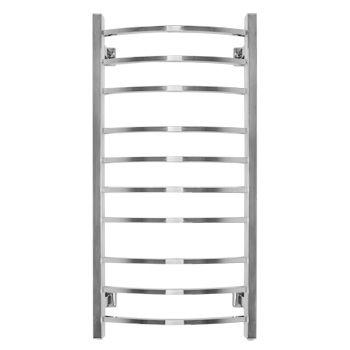 Электрический полотенцесушитель Energy GRAND 1000×500, квадратные выпуклые перекладины