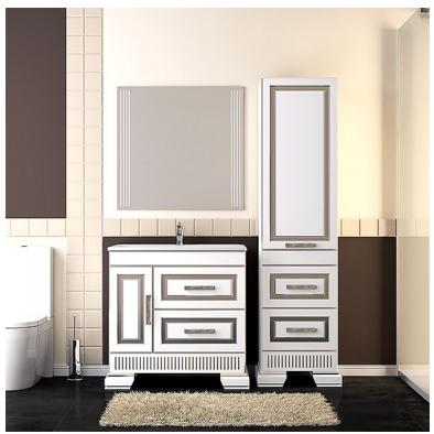 Комплект  мебели OPADIRIS ОНИКС 80 цвет серебро или золото