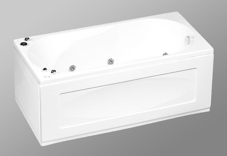 Акриловая ванна AKRILAN Rio SEVILLA 160*75 см, без гидромассажа