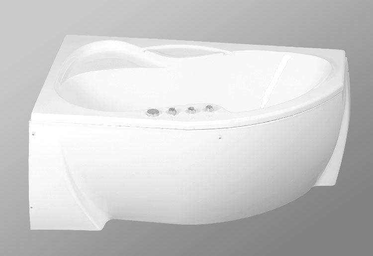 Акриловая ванна AKRILAN Laguna ALSINA , 150*105 см, без гидромассажа