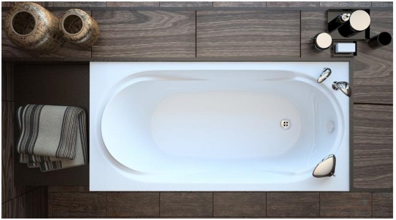 Акриловая ванна AKRILAN Rio HEDIONDA, 150*70 см, без гидромассажа