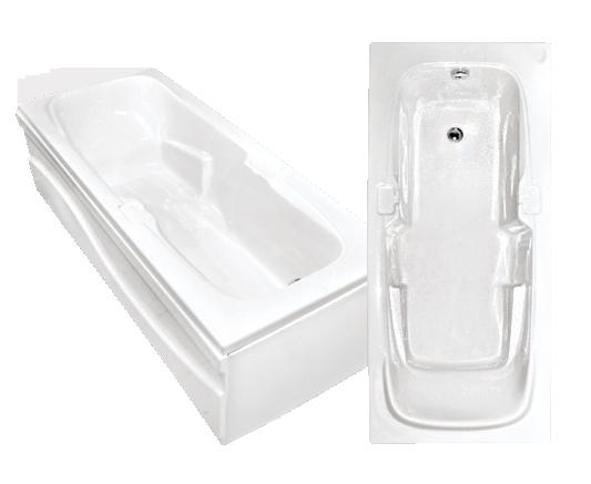 Гидромассажная акриловая ванна Bach Виктория 180*80 см, G
