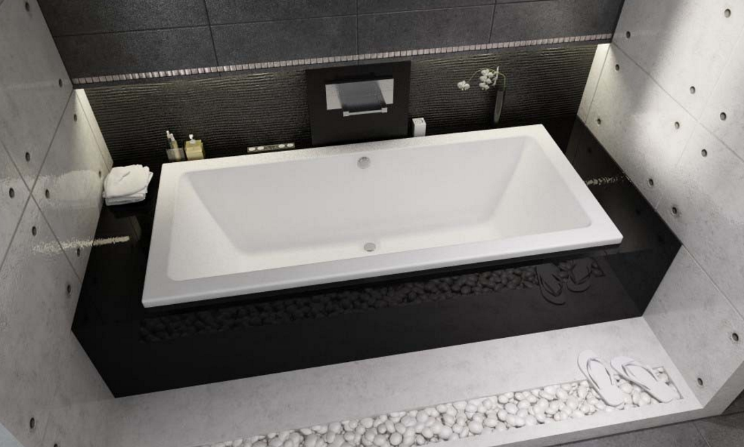 Ванна акриловая Riho Lusso 190X90, без гидромассажа