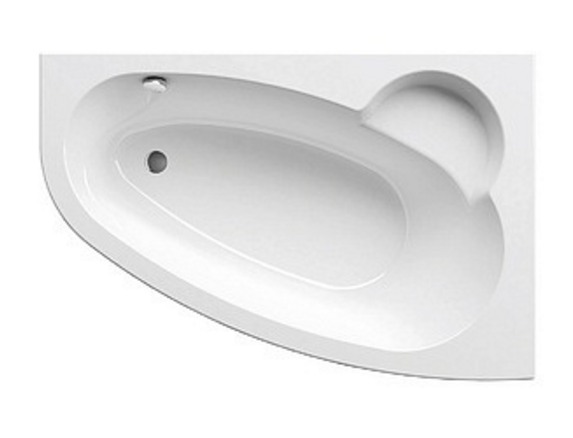 Ванна акриловая Ravak Asymmetric 150 R