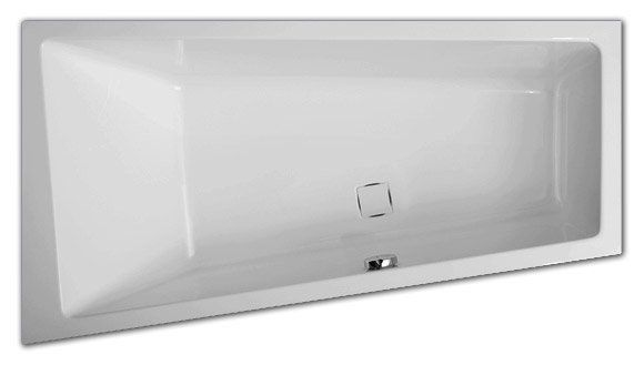 Ванна акриловая Vagnerplast Cavallo 160x90 R