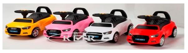 Детская машина-каталка толокар River Toys Audi JY-Z01A красный